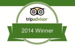 Trip Advisor Excellence Certificate 2014